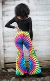 Tie Dye High Waist Big Bells