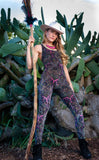 Paisley Pink Burnout Panther Ladyhawke Onesie - Limited Edition Fabric