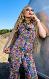 Acid Test Velvet Mystique Onesie - Jammin Warrior Collective