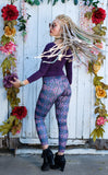 Magenta Night Ladyhawke Leggings - Jammin Warrior Collective