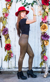 35% Off - Star Metallic Ladyhawke Leggings - 2 Colors