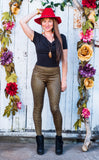 Star Metallic Ladyhawke Leggings - 2 Colors
