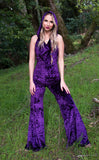 SALE: Royal Purple Crush Velvet Mystique Onesie