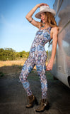Night Owl Panther Ladyhawke Onesie - Jammin Warrior Collective