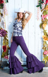 Purple Bamboo Pirate Pants