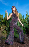 Paisley Pink Burnout Velvet Mystique Onesie - Limited Edition Fabric