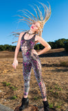 25% Off - Pink Paisley Burnout Panther Ladyhawke Onesie x Snip Tease