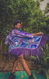 Worlds of Growth Velvet Kimono x Sweet Melis