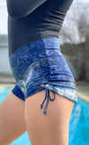 Thunder Sky Cowgirl Shorts