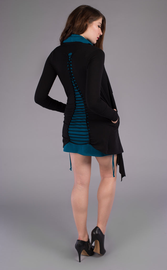 Snip Teased - Bamboo Waterfall Cardigan - Warrior Within Designs ,Top