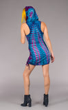 Tie Dye Huntress Cinch Dress
