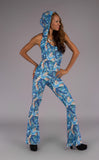 Monet Mystique Slim Bell Onesie - Warrior Within Designs ,Onesie