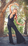 Black Velvet Tigra Jumpsuit - Warrior Within Designs ,Onesie