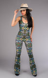 Paradise Panther Onesie - Jammin Warrior Collective - Warrior Within Designs ,Jumpsuit