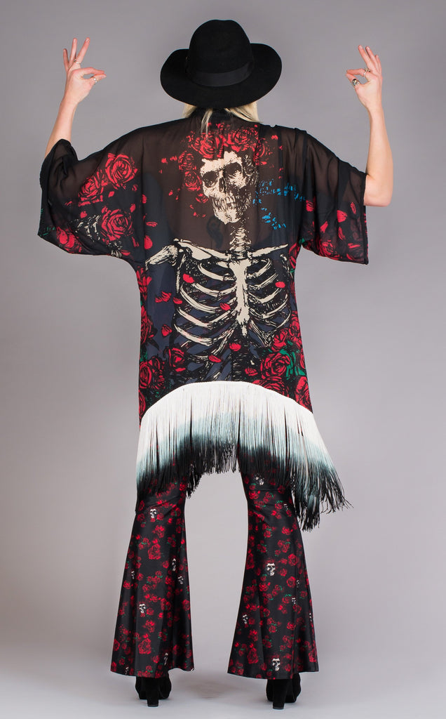 Grateful Dead Kimono - Bertha - Jammin Warrior Collective