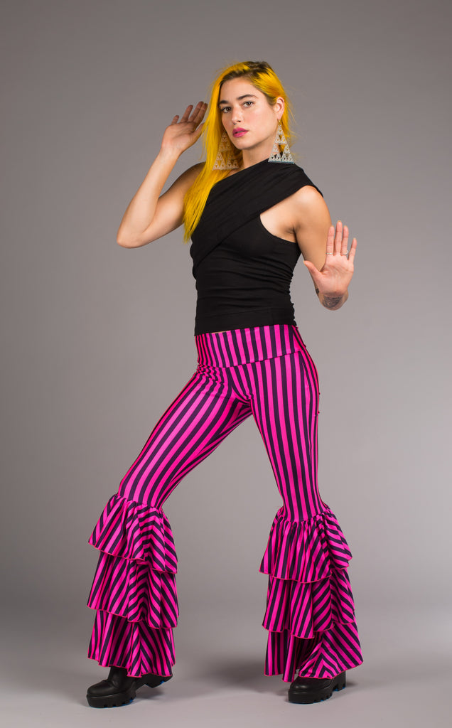 Pink Circus Pirate Pants - Warrior Within Designs ,Pants