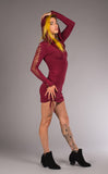 Snip Tease - Bamboo Long Sleeve Huntress Dress - Warrior Within Designs ,Dress