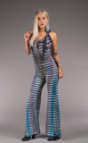 Tie Dye Mystique Slim Bell Onesie - Warrior Within Designs ,Onesie