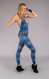 Alien Lizard Jumbie Luna Leggings