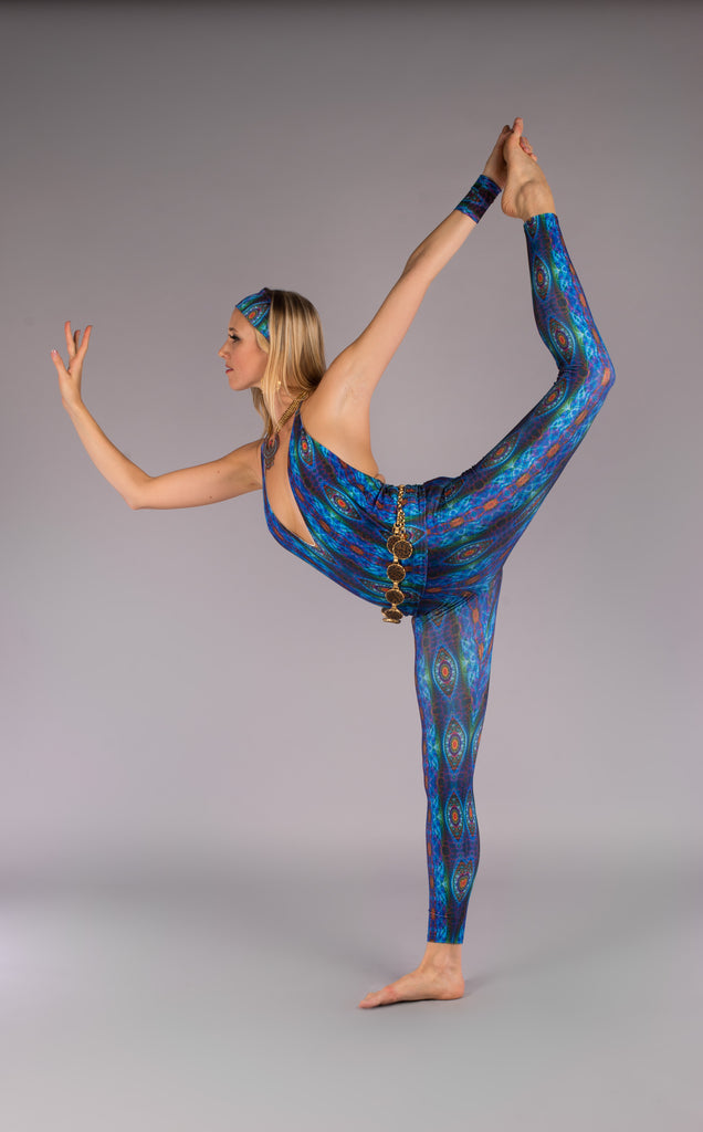 Alien Lizard Jumbie Luna Leggings - Warrior Within Designs ,Leggings , Yoga , Active wear