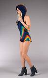 Tie Dye Mystique Shortsie - Warrior Within Designs ,Shortsie