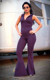 Purple Bamboo Katana Onesie - - Warrior Within Designs ,Onesie