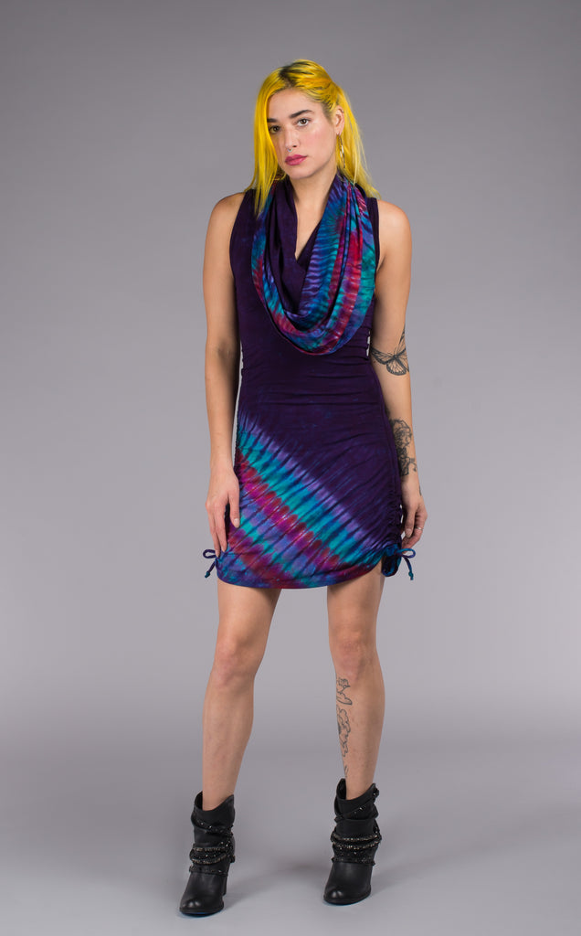 Tie Dye Huntress Cinch Dress - Warrior Within Designs ,Tie Dye
