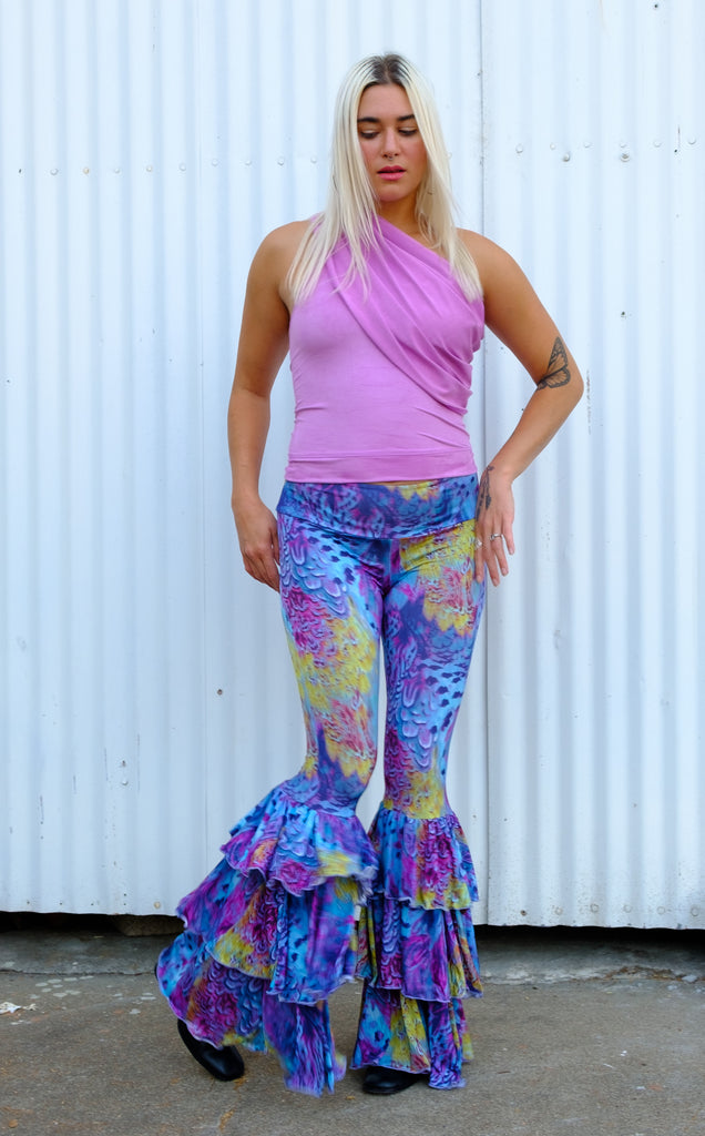 Tropical Feather Pirate Pants - Warrior Within Designs ,Pants