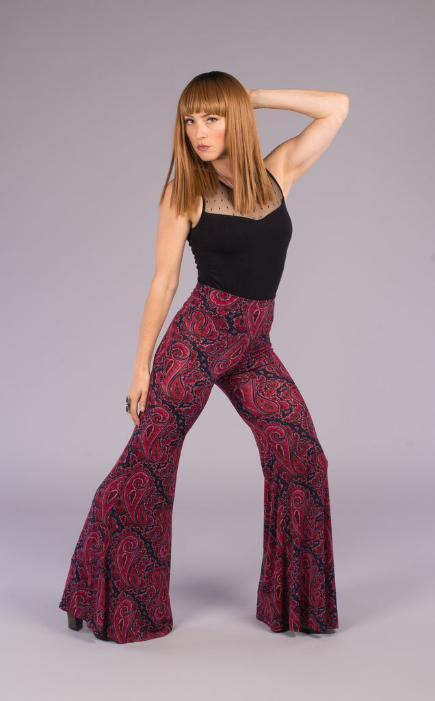 Cardinal Paisley Big Bells Pants