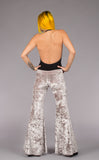Champagne Velvet Flow Pants - Warrior Within Designs ,Pants