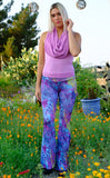 Tropical Feather Slim Bells - Warrior Within Designs ,Pants