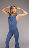 Butta Blue Firebird Slim Bell Onesie - Warrior Within Designs ,Onesie