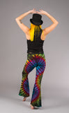 Tie Dye Slim Bells - Warrior Within Designs ,Pants