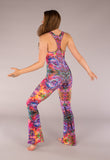 Abstract Pantha Jumbzie Jumpsuit - Warrior Within Designs ,Jumpsuit