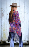 Maple Swirl Kimono - Jammin Warrior Collective