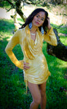 Sunshine Crush Sleeved Huntress Cinch Dress