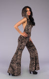 Metallic Lotus Burnout Velvet Mystique Onesie - Warrior Within Designs ,Onesie