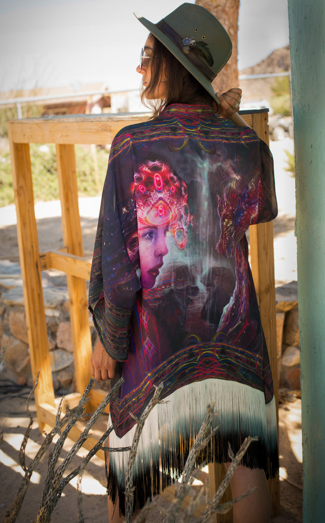 Through the Veil~ Dragon Kimono - Warrior Within Designs ,Onesie