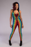 Tie Dye Mystique Ladyhawke Onesie - Warrior Within Designs ,Onesie