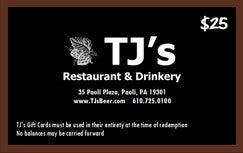 TJ's Gift Card