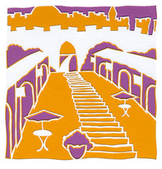 artist colony jerusalem jewish papercut art