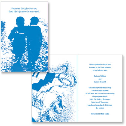 custom bar mitzvah invitations bat mitzvah invitations