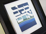 caleb hebrew name hebrica jewish papercut art