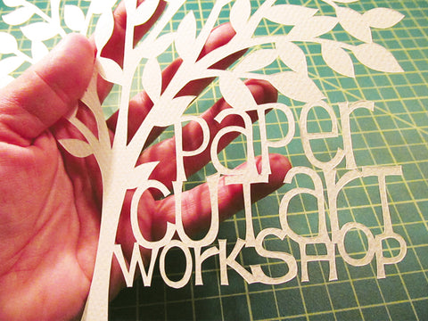 papercutting art workshop nashville