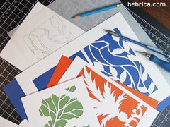jewish papercutting workshop