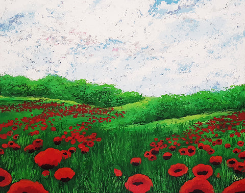Field of Poppies No. 2