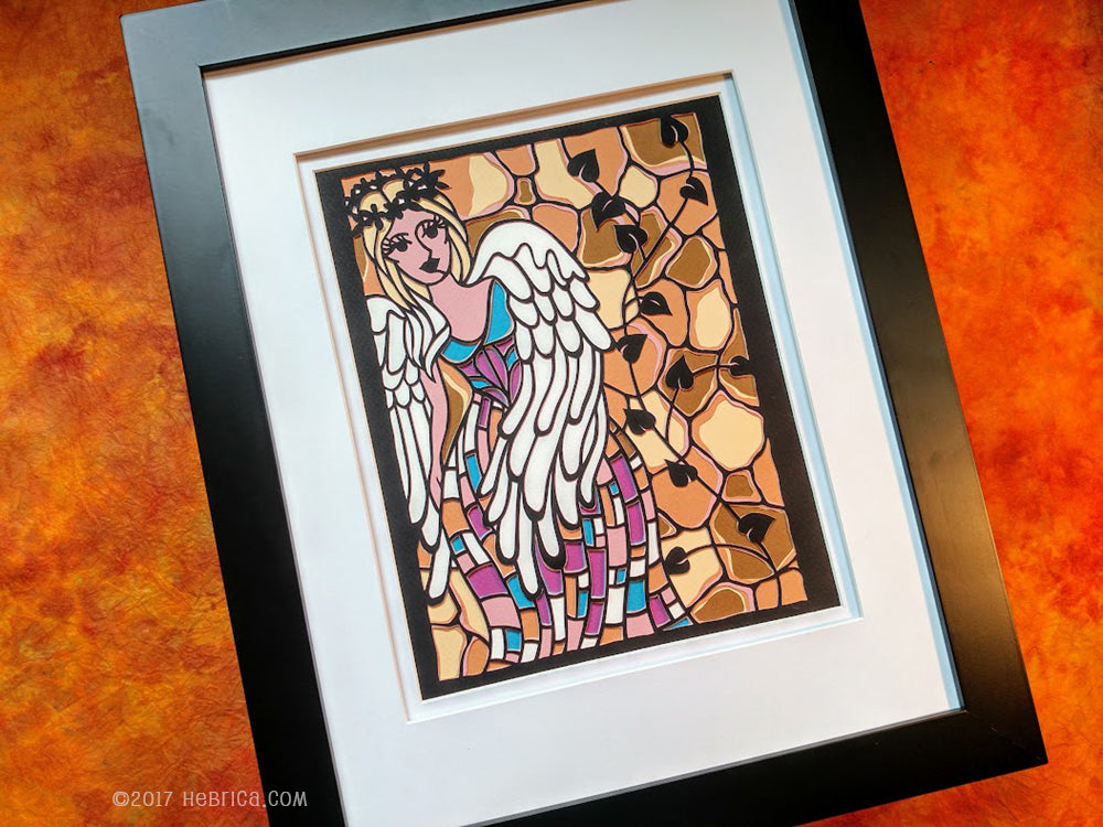 Sewanee Angel - Paper Cut Art