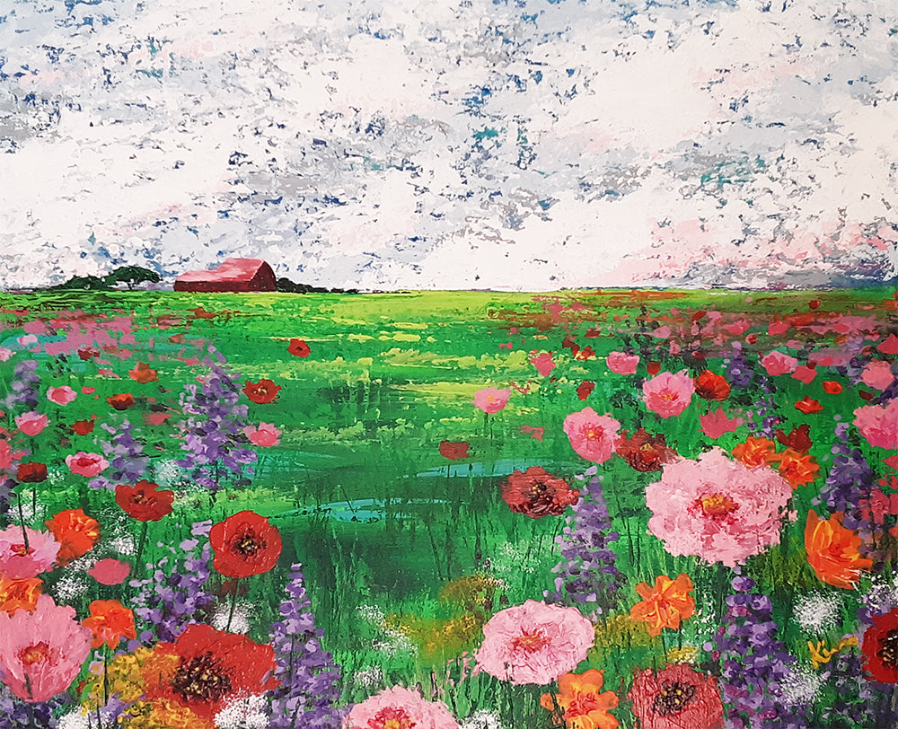 Wildflowers in the Field
