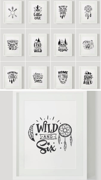 Wild and Boho {51 pages}