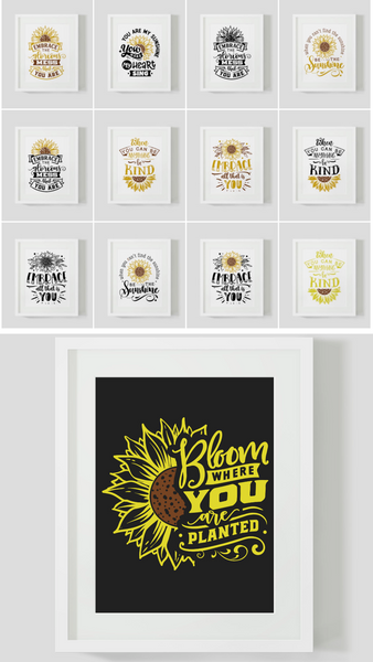 Sunflower Designs {123 Pages}